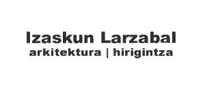 Logo de izaskun Larzabal Arquitectura